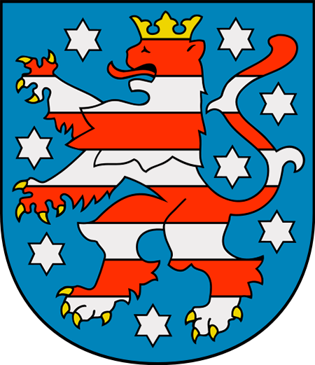 452px-Coat of arms of Thuringia.svg