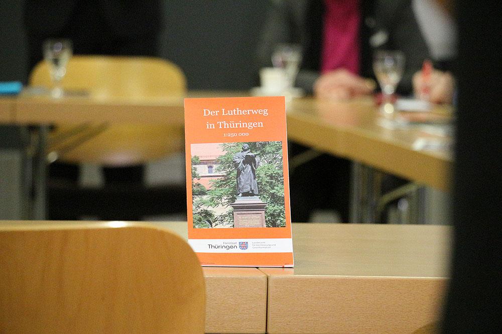 Lutherweg Nachrichten Neue Karte Des Thuringer Lutherweges